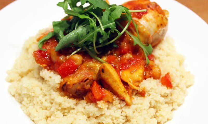 couscous poulet sauce tomates