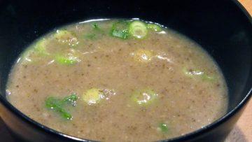 Soupe champignon et chicon