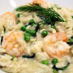 Risotto scampis fenouil