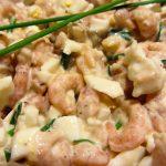 salade de crevettes