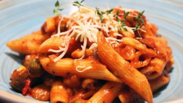 Penne sauce tomate