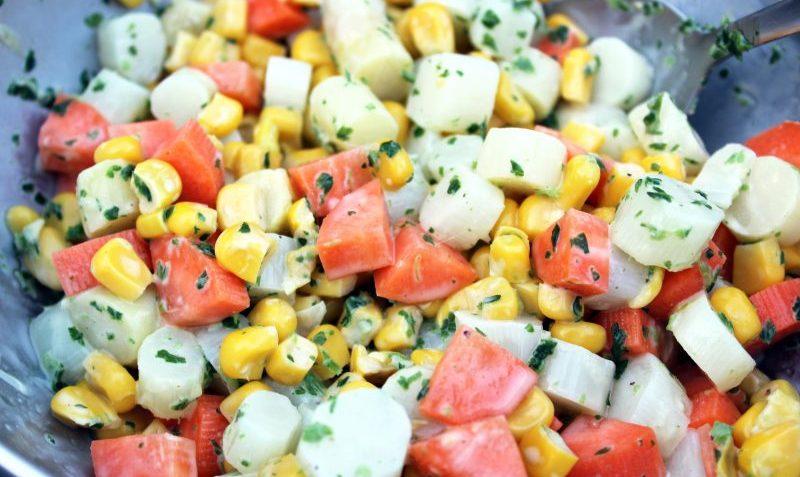 salade printanière