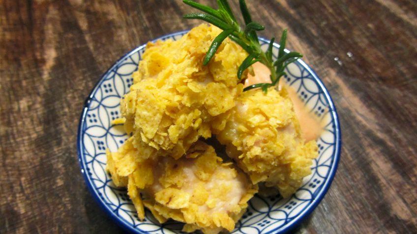 Chicken nuggets épicés