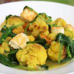 chou-fleur au curry