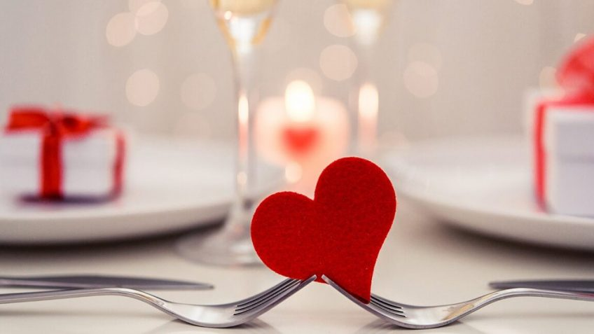 repas Saint-Valentin