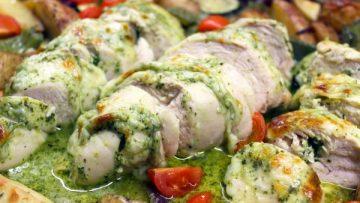 Filets de poulet au pesto