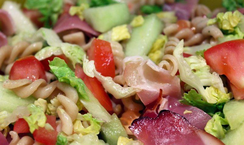 Salade italienne au melon