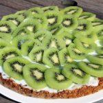 Tarte au kiwi et aux flocons d'avoine