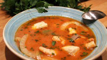 soupe de la mer