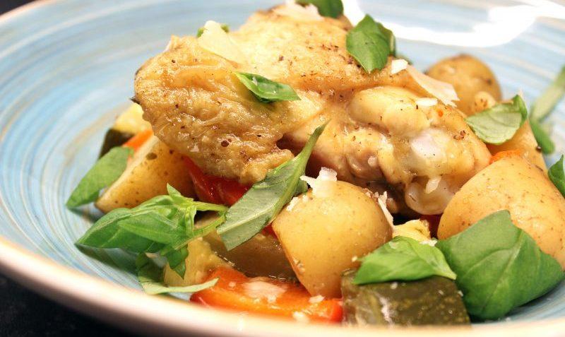 poulet toscan