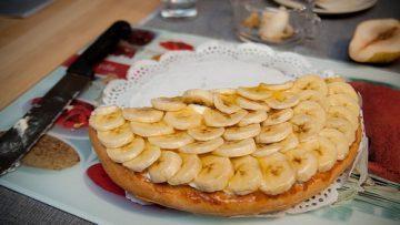Tarte à la banane