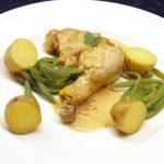poulet à la sauce au cidre