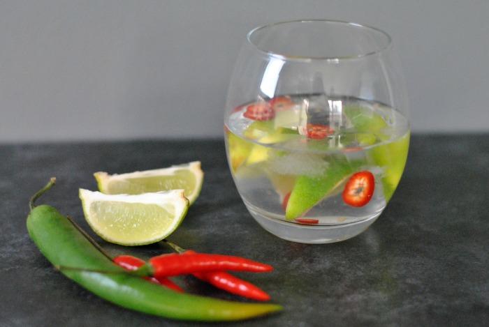 Gin tonic au chilli