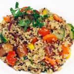 Quinoa et boulghour au poulet et aux légumes