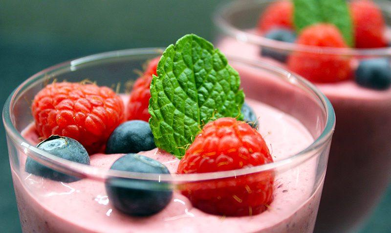 frozen yaourt aux myrtilles