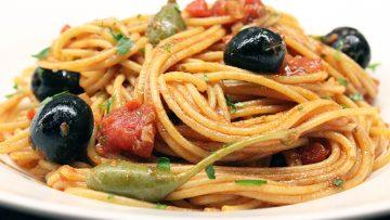 Spaghetti-Pizzaiola