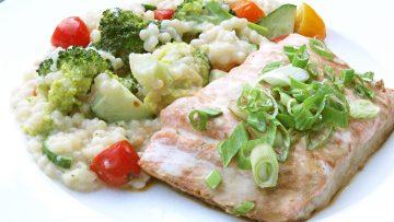 saumon couscous perlé