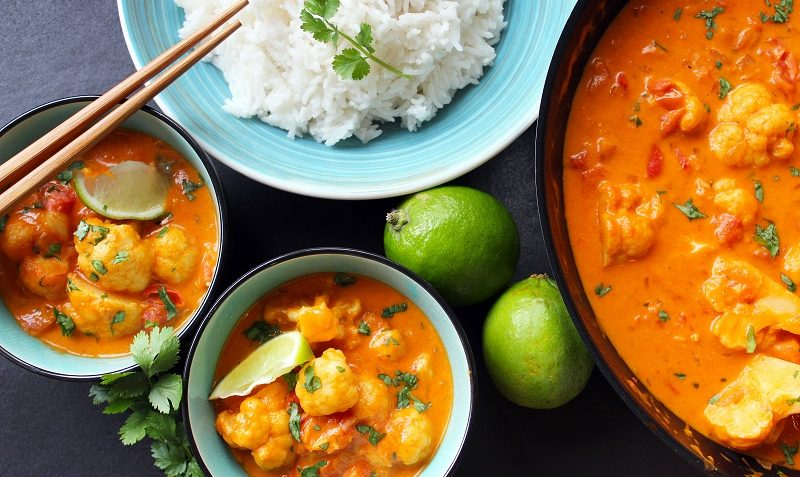 choufleur au curry