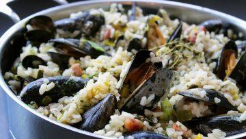 risotto aux moules
