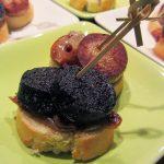 toast boudin noir pomme cannelle
