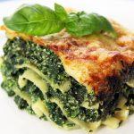 lasagne aux épinard et ricotta