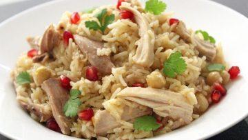poulet pilav