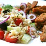 pâtes grecques et gyros