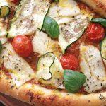 pizza turque halloumi et courgette